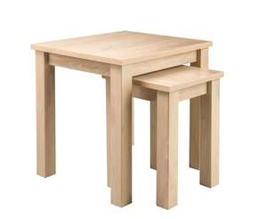 Newhampton Nest of Tables - Natural - £24.70 delivered See OP for more options @ George ASDA