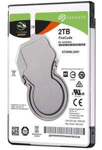 "Seagate FireCuda 2TB SATA III 2.5"" Hybrid Drive - ST2000LX001 at Ebay/CCL for £70.01"