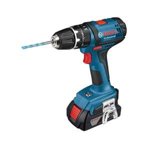 Bosch Professional GSB 18-2-LI Cordless Combi Drill with Two Batteries £50 @ Wickes