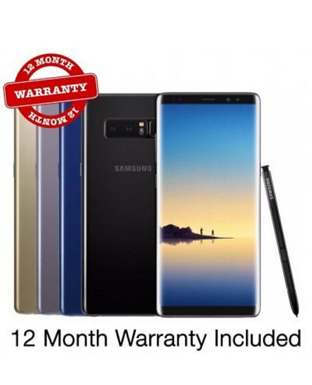 Samsung Galaxy Note 8 SM-N950F 64GB Black/Gold UNLOCKED In Very Good Condition £270 @ XS Items Ebay