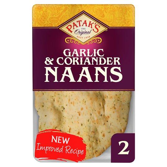 Pataks Garlic And Coriander Naan Bread 2 Pack - 84p @ Tesco
