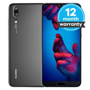 Huawei P20 - 128GB - Black (Vodafone) Smartphone 12 month warranty EBAY / musicmagpie - £186.99