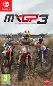 MXGP3 - The Official Motocross Videogame (Nintendo Switch) 70% off - £11.99