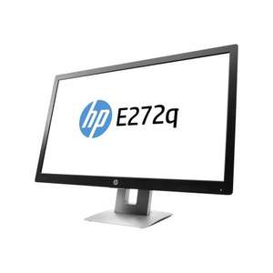 "HP EliteDisplay E272q Quad HD 2560 x 1440 resolution monitor - 27"" @ Ballicom - £145.16"