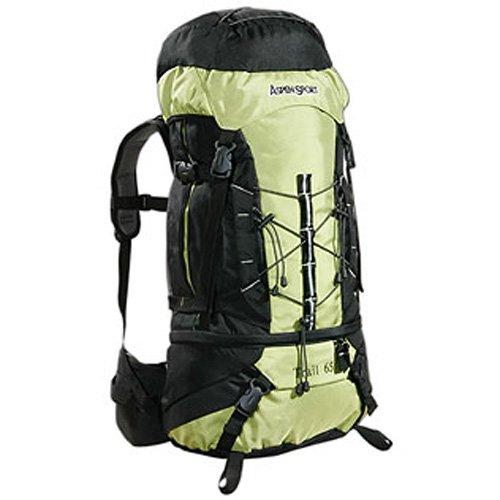 AspenSport Trail Trekking Rucksack - 65 Litres, Green/Black now £29.64 delivered @ Amazon