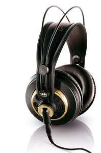 AKG K240 STUDIO Professional Semi-Open, Over-Ear Headphones - rrp £65 / Now £46 Delivered at Amazon
