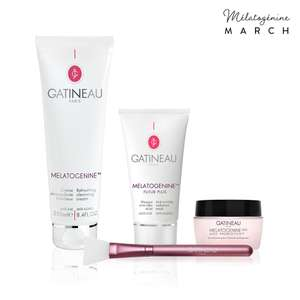 Gatineau Mélatogénine Ultimate Bumper Collection - 3 Full Size Products & Brush Now £45 with code + Free Delivery at Gatineau