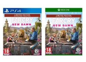 Far Cry New Dawn Limited Edition (Exclusive to Amazon.co.uk) (PS4 / Xbox One) for £27.99 delivered @ Amazon