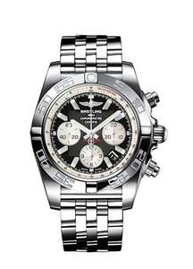 Breitling Gents Chronomat 44 Black Dial Watch £4995 @ Hugh Rice
