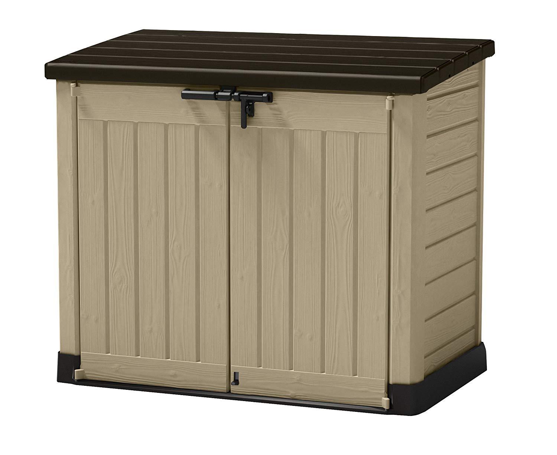 Keter Store It Out Max Plastic Garden & Wheelie Bin Storage Beige & Brown - 4 x 5 ft (1200L) £85 with code @ Wickes (c+c)
