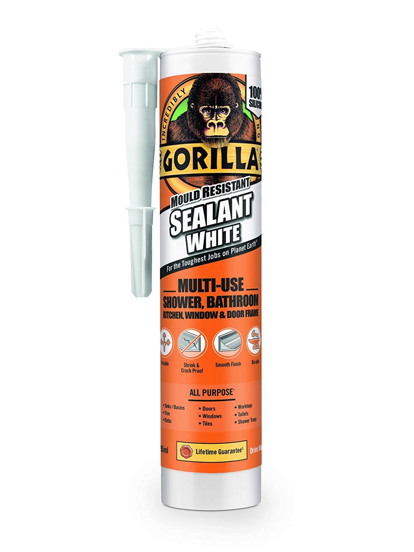 GORILLA GLUE Sealant White 295ml - £5.95 (Prime) £10.44 (Non Prime) @ Amazon