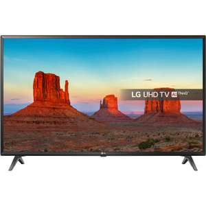 """LG 43UK6300PLB 43"""" Smart 4K Ultra HD TV with HDR and Freeview Play - £307.80 @ AO"""