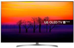 LG OLED55B8S 55 inch OLED 4K Ultra HD HDR Smart TV Freeview Play £989 with code at Richer Sounds