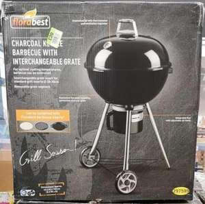 Florabest 54cm charcoal kettle barbecue for £20 at Lidl Grimsby