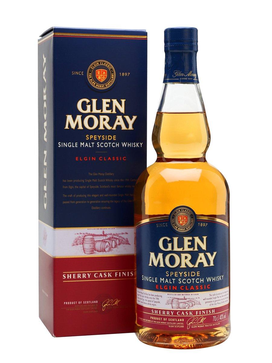 Glen Moray Sherry Cask Finish Single Malt Whisky 70cl only £18 @ Morrisons