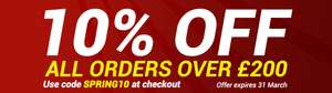 10% OFF ALL garden shed from gardenbuildingsdirect over £200 ends 31st March 2019