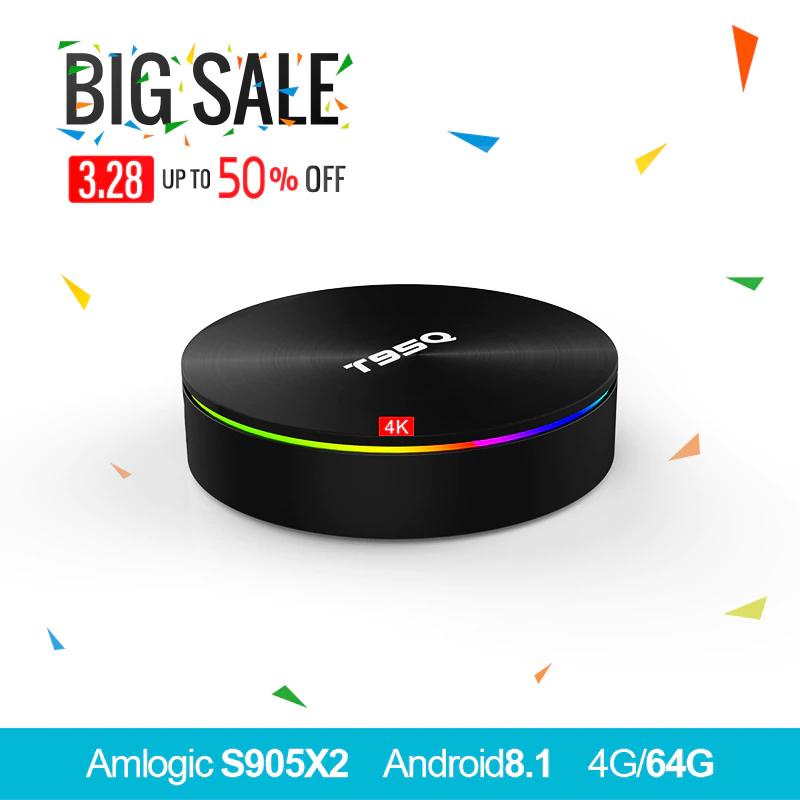 T95Q Android 8.1 TV Box S905X2 / 4GB / 32GB / AliExpress £37.15