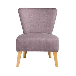 Cocktail Chair Mauve £51.75 @ Asda George C&C or £2.95 delivery