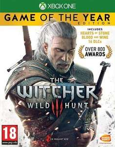 The Witcher 3: Wild Hunt – Game of the Year Edition Xbox One (Digital) £10.50 @ Microsoft Store