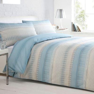 Debenhams Home Collection Basics Aqua 'Maddison' Bedding Set King @ Amazon £22.50 Delivered