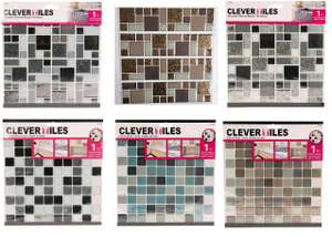 Clever Tiles 10 inch x 10 inch, 1 Piece, Various Colours, £1 In Store @ Poundland (Argyle Street, Glasgow)