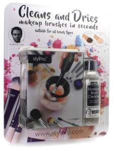 STYLPRO Makeup Brush Cleaner and Drier with 150ml Makeup Brush Cleanser liquid £15.59 Costco