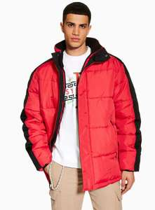 Red puffer jacket - £9 after code EXTRA10 @ topman