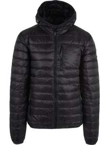 Surfanic Mens Polar Down (Hooded) Black Jacket £38.98 Delivered With Code (S, M, L, XL, 2XL)