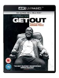 Get Out (4K Ultra HD + Blu-ray) £10 at Zoom