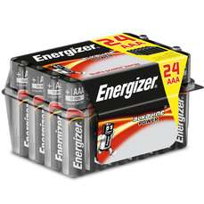 Energizer AA/AAA  Alkaline Power Batteries - 24 Pack - £5.09 with code @ Robert Dyas - Free C&C