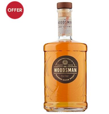 The Woodsman Blended Scotch Whisky £22 at Waitrose & Partners