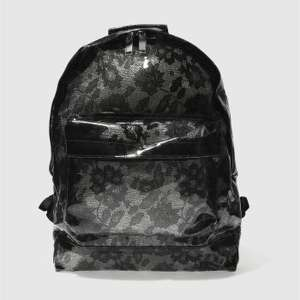 Mi Pac Black Transparent Lace Backpack £9.99 @ Schuh - Free C&C or £1.00 Delivery