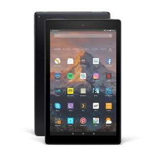 Certified Refurbished Fire HD 10 Tablet, Alexa Hands-Free, Full HD, 32 GB - £89.99 @ Amazon