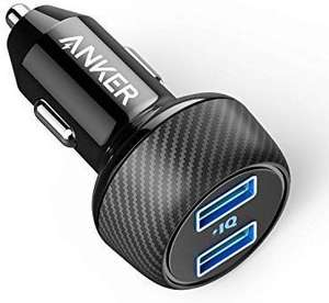 Anker Car Charger [UPGRADED] PowerDrive 2 Elite £5.99 (Prime) / £10.48 (non Prime) Sold by AnkerDirect and Fulfilled by Amazon