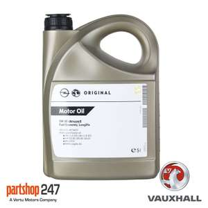 5litres fully synthetic oil 5w 30. Suitable for many vehicles. Genuine GM oil. £19.99 ebay /  partshop247