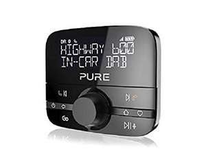 Pure Highway 600 In-Car DAB/DAB+ Audio Adapter with Bluetooth Music and Hands-Free Calling - Black £79.95 Amazon sold by iZilla in certified