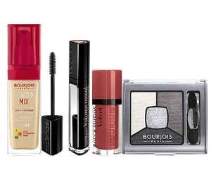 40% Off ALL Bourjois Make-Up at Boots ~ Mascara from £4.79,  Palettes from £4.79, Foundation from £5.99...