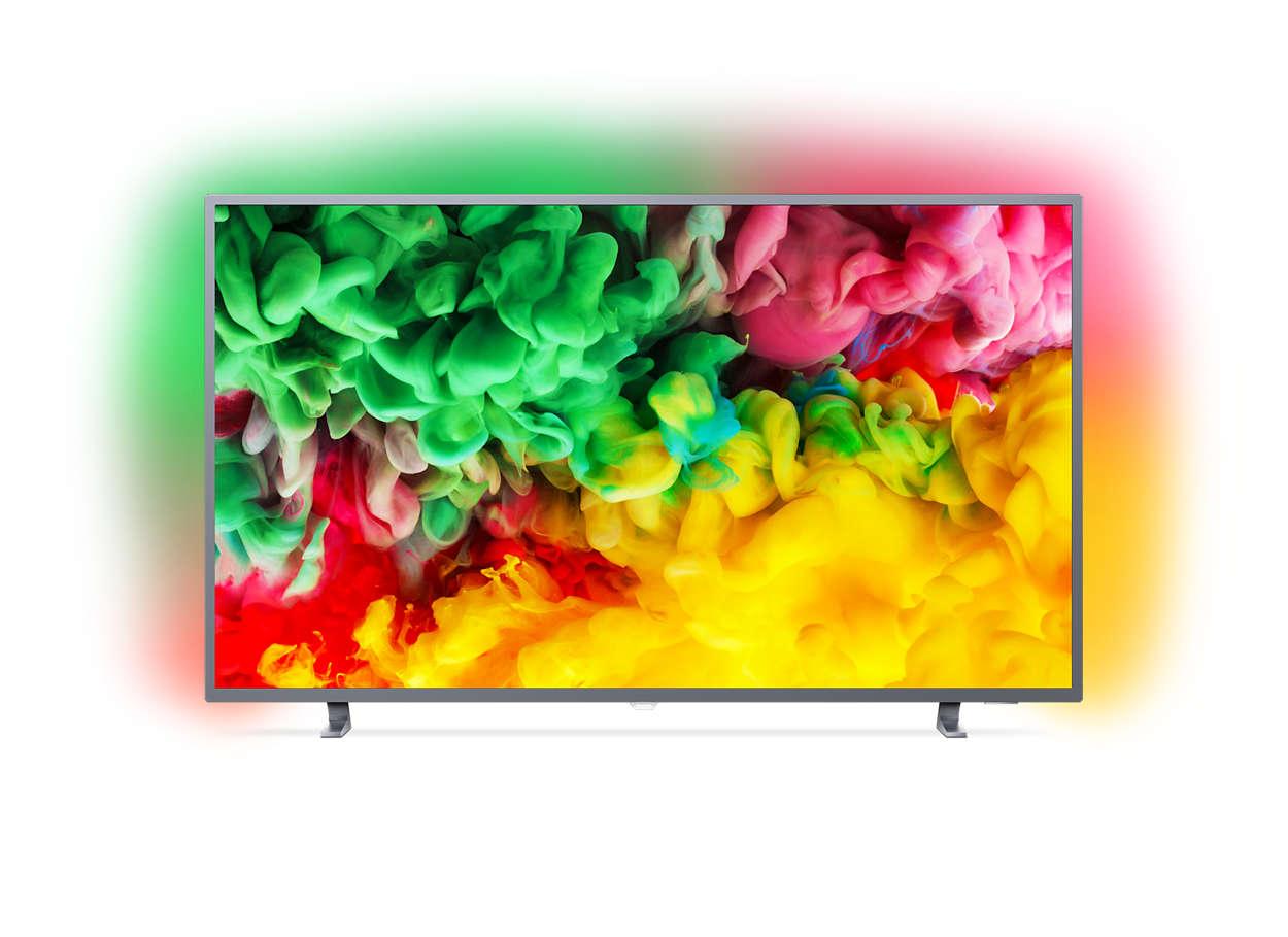 Philips 55PUS6703 Ambilight 55 inch 4K Ultra HD HDR TV | 5 Year Warranty | £469.99 @ Costco