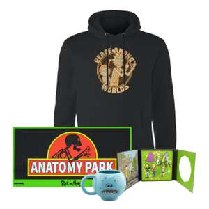 Rick And Morty Bundle including Hoodie, Mr Meseeks Mug, Pin badge set and Mat £30.98 Delivered at Zavvi