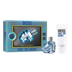 Diesel Only The Brave 50ml EDT, 100ml Shower Gel Gift Set £24.99 + Free delivery at The Perfume Shop