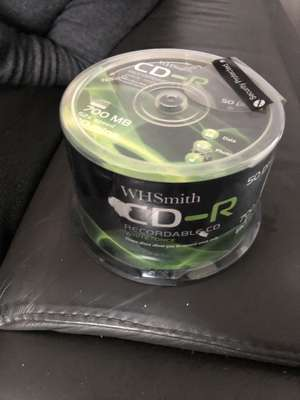 WH SMITH pack of 50 CD-R 20p Hull centre