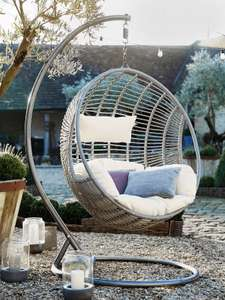 Hanging Chair Cushion - Cream £72 @ Cox and Cox