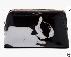 Ted Baker Cotton Dog Make up Bag @ John Lewis & Partners £16, Was £32