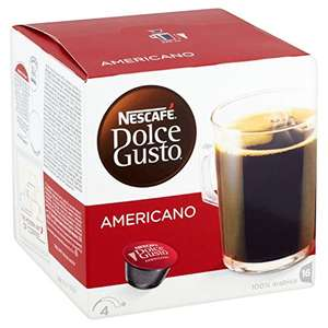 Dolce Gusto 16 pack Americano 10 packs for £25 plus free delivery at Approved Foods