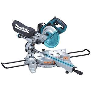 Makita DLS713RME 18 V Li-ion LXT Slide Compound Mitre Saw Complete with 2 x 4.0 Ah Li-ion Batteries and Charger - £445.74 @ Amazon