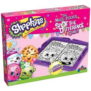 Drumond Park Shopkins Spot The Difference Game @ Amazon Add On £4.05