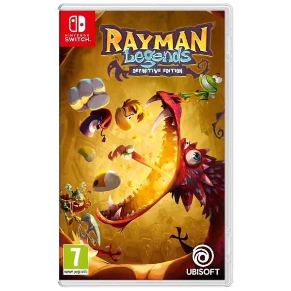 Rayman Legends: Definitive Edition Switch - £16.99 delivered @ Smyths