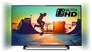 Philips 43PUS6262 43 Inch 4K Ultra HD HDR Ambilight Freeview Smart WiFi LED TV, £314.99 at Argos / eBay