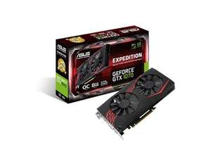 ASUS GeForce GTX 1070 Expedition 8GB VR Ready Graphics Card £237.60 @ CCL