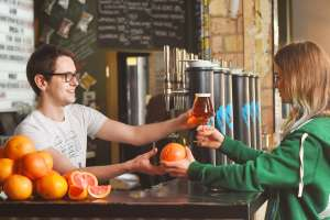 Trade a grapefruit for a 1/2 pint Elvis Juice in Brewdog bars - 50p